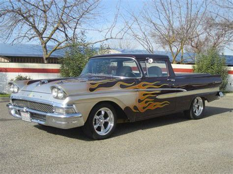 buy used 1958 ford ranchero v8 351c custom paint custom interior very muscle truck in