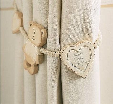 12 Ideas of Kids? Curtain Tie Backs   love,love,love