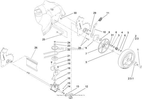 Parts Diagram Toro Recycler