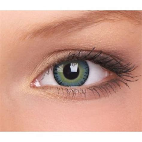 contacts colored fusion coloured fashion contact lenses yellow