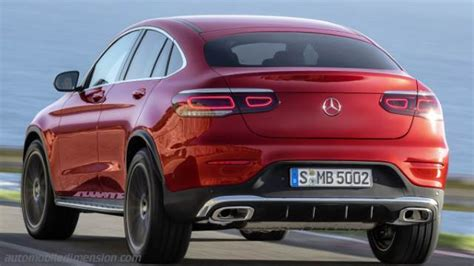 mercedes benz glc coupe  dimensions boot space
