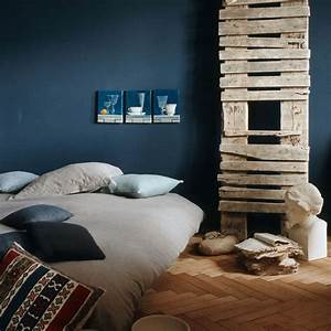 Chambre Bleu Nuit : une chambre couleur bleu la t te dans les nuages c t ~ Melissatoandfro.com Idées de Décoration