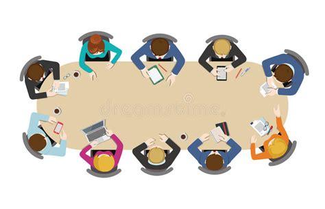 r rig ateur de bureau échange d 39 idées plat de bureau de réunions d 39 affaires