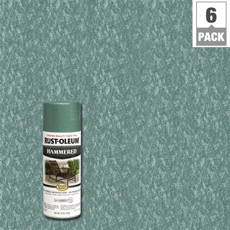 verde green paint color rust oleum stops rust 12 oz protective enamel hammered verde green spray paint 6 7219830