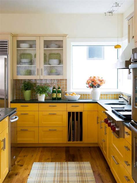and yellow kitchen ideas 15 bright and cozy yellow kitchen designs rilane