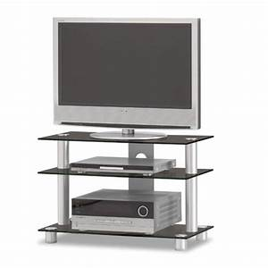 JUST RACKS TV8553 Glas TV Rack Mit Kratzfestem Glas Bei TV