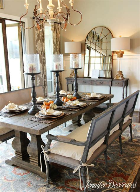 decorative dining table ideas fall table decorations that are easy and affordable