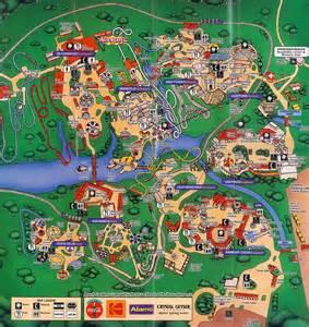 busch gardens williamsburg map my