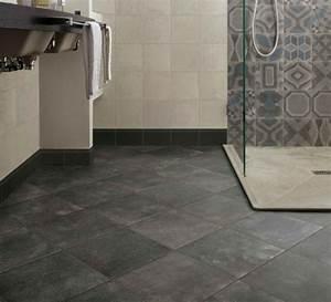 comment choisir son sol de salle de bains leroy merlin With lino pour salle de bain