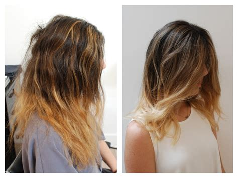 Fix Bad Ombre Hair Color Rehab