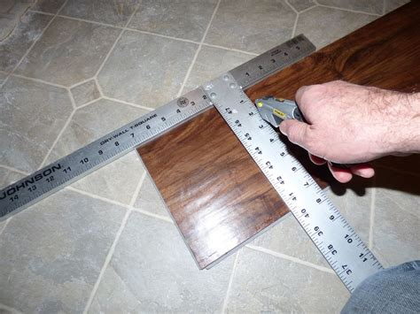 vinyl plank flooring how to cut it s easy and fast to install plank vinyl flooring