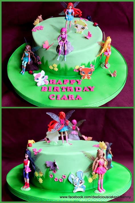 17 Best images about winx cake on Pinterest Birthday