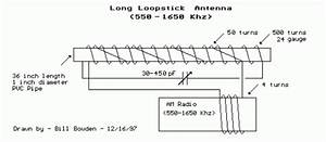 Long Loopstick Antenna Circuit Diagram