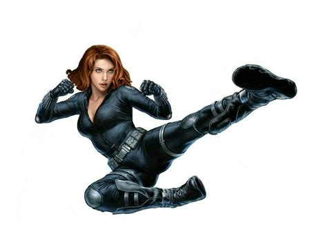 library  black widow marvel clip black  white png