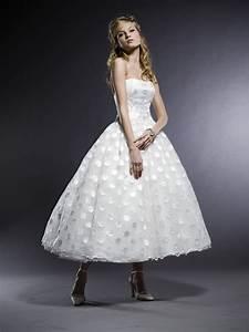 gorgeous wedding dress tea length wedding dress With tea dress wedding