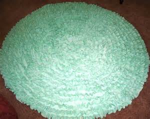 nursery rug mint green rnd 4 rug kids rug by