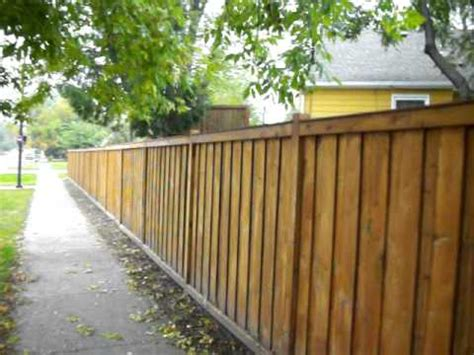 picture frame privacy fence st louis park mn    youtube