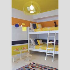 Trendy And Timeless 20 Kids' Rooms In Yellow And Blue