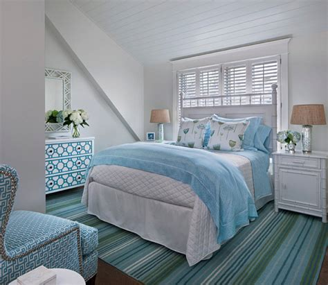 Turquoise Bedroom Decor by Traditional Transitional Coastal Interior Design Ideas