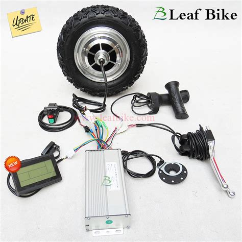 10 inch 48v 800w rear bldc hub motor electric bike