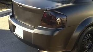 Black Matte Dodge Avenger