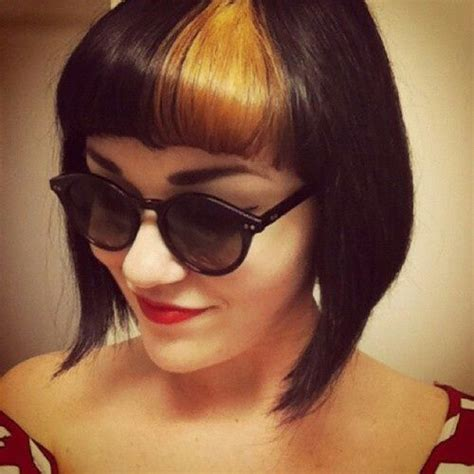 Best 25 Dyed Bangs Ideas On Pinterest Ombre Hair Dye