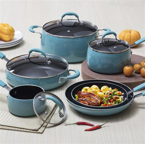 cookware ceramic fun pots pans kitchen