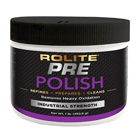 rolite pre polish lb  heavily oxidized stained discolored  corroded aluminum brass