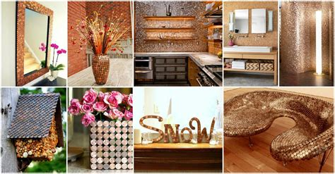 diy golden penny decor ideas    love