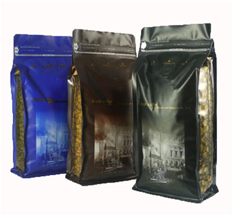 china plastic gusseted valved tintie coffee bags