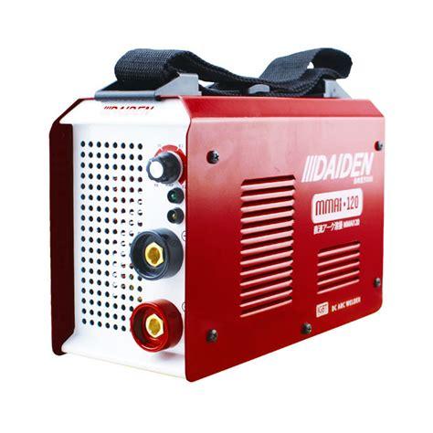 daiden welding inverter machine mesin las mmai 120