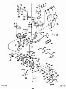 Force 85 Hp  1987  Motor Leg Parts