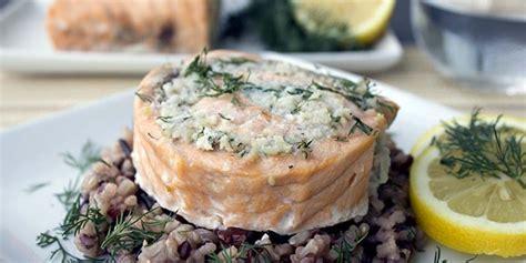 easy salmon  crab rolls thefitblog