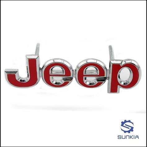 jeep front logo 2017 3d metal alloy jeep logo front hood emblem grille