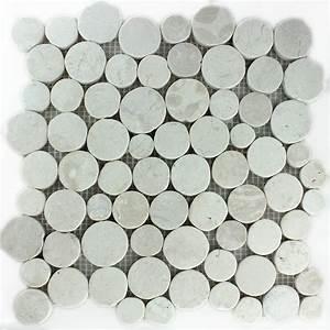 Mosaik Fliesen Rund : flusskiesel mosaik fliesen ~ Watch28wear.com Haus und Dekorationen