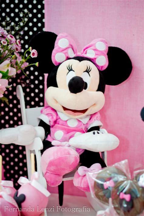 karas party ideas disney minnie mouse girl pink themed