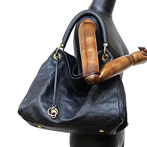 louis vuitton  artsy mm hobo bag monogram empreinte leather