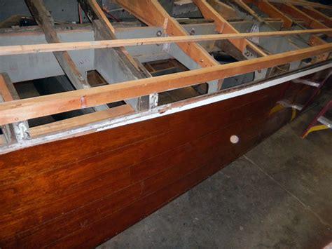 Wooden Boat Hull Repair by Wooden Boat Plank Repair Antiqu Boat Plan