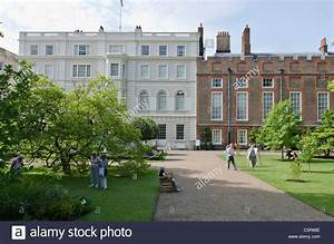 Clarence House and St James's Palace garden London Uk ...
