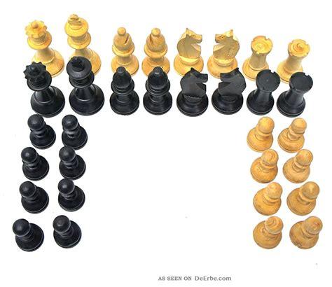 Figuren Aus Holz by Schachfiguren 2 X 16 Figuren Aus Holz Im
