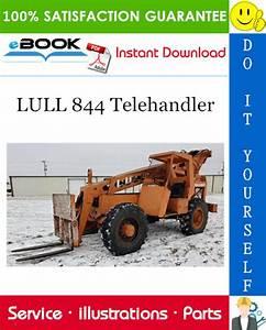 Lull 844 Telehandler Illustrated Parts Manual  P  N