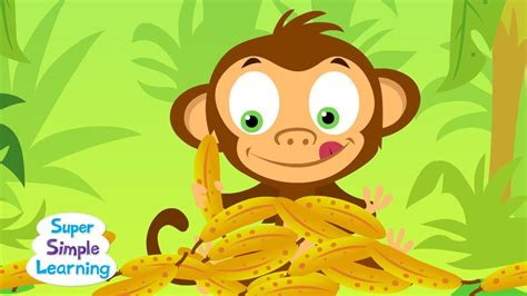 The Bananas Song  Counting Bananas  Super Simple Songs Youtube