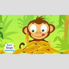 Counting Bananas  Super Simple Songs Youtube