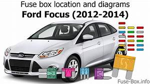 Fuse Box Location And Diagrams  Ford Focus  2012-2014