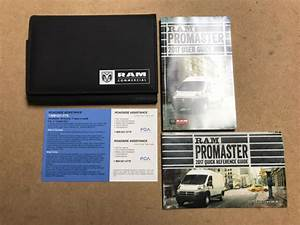 2017 Dodge Ram Promaster 1500 2500 3500 Owners Manual