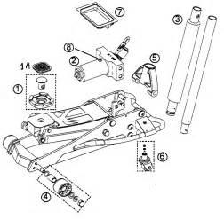 Sears Floor Jack Manual craftsman floor jack parts model 21450244 sears