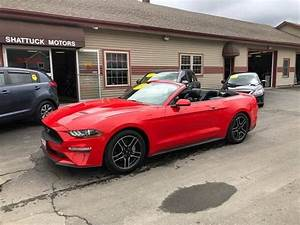 2018 Ford Mustang EcoBoost Premium Convertible for sale in Newport, VT / ClassicCarsBay.com