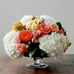 Tischdeko Mit Sonnenblumen : 1001 ideen f r tischdeko wie sie den tisch mit blumen ~ Lizthompson.info Haus und Dekorationen