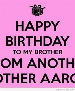 Older Brother Birthday Quotes. QuotesGram