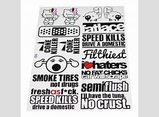 Bike and Car Stickers Car Sticker Wholesale Trader from